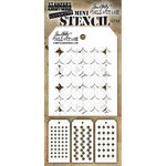 Stampers Anonymous - Tim Holtz - Layering Stencil - Mini Set 40
