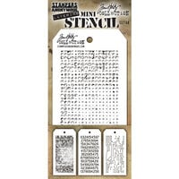 Stampers Anonymous - Tim Holtz - Layering Stencil - Mini Stencil Set 48