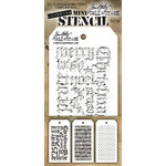 Stampers Anonymous - Tim Holtz - Layering Stencil - Mini Set 20