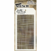 Stampers Anonymous - Tim Holtz - Layering Stencil - Linen