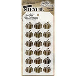 Stampers Anonymous - Tim Holtz - Halloween - Layering Stencil - Pumpkins