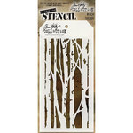 Stampers Anonymous - Tim Holtz - Layering Stencil - Birch