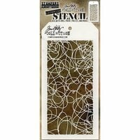 Stampers Anonymous - Tim Holtz - Layering Stencil - Doodle