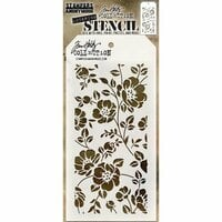 Stampers Anonymous - Tim Holtz - Layering Stencil - Floral