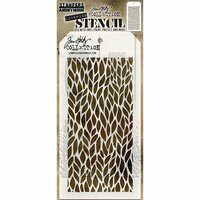 Stampers Anonymous - Tim Holtz - Layering Stencil - Leafy