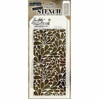 Stampers Anonymous - Tim Holtz - Layering Stencil - Splash