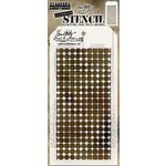 Stampers Anonymous - Tim Holtz - Layering Stencil - Grid Dot