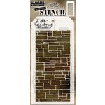 Stampers Anonymous - Tim Holtz - Layering Stencil - Slate