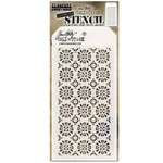 Stampers Anonymous - Tim Holtz - Layering Stencil - Rosette
