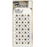 Stampers Anonymous - Tim Holtz - Christmas - Layering Stencil - Starry