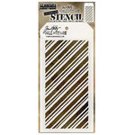 Stampers Anonymous - Tim Holtz - Christmas - Layering Stencil - Peppermint