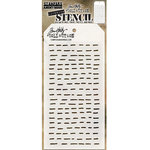 Stampers Anonymous - Tim Holtz - Layering Stencil - Dashes