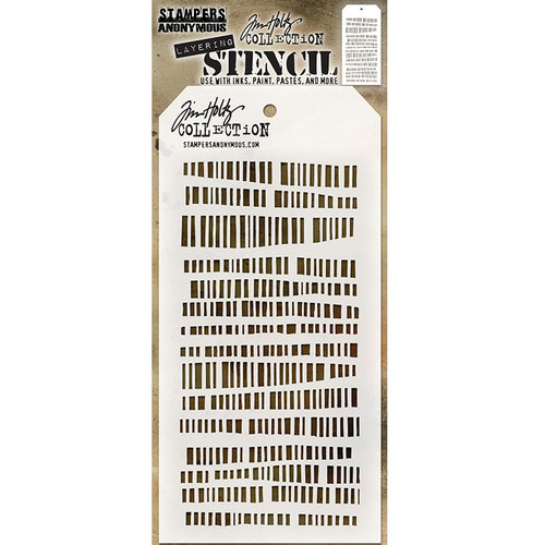 Stampers Anonymous - Tim Holtz - Layering Stencil - Code