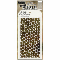 Stampers Anonymous - Tim Holtz - Layering Stencil - Hive