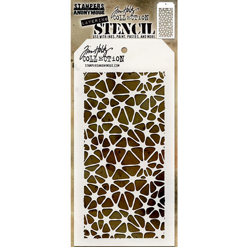 Stampers Anonymous - Tim Holtz - Layering Stencil - Organic
