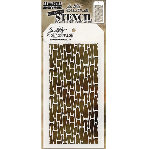 Stampers Anonymous - Tim Holtz - Layering Stencil - Cells