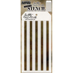 Stampers Anonymous - Tim Holtz - Layering Stencil - Shifter Stripes