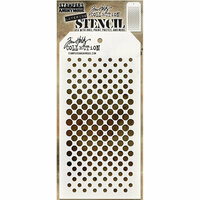 Stampers Anonymous - Tim Holtz - Layering Stencil - Gradient Dot