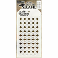 Stampers Anonymous - Tim Holtz - Layering Stencil - Shifter Burst
