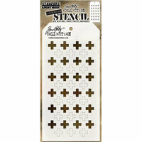 Stampers Anonymous - Tim Holtz - Layering Stencil - Shifter Plus