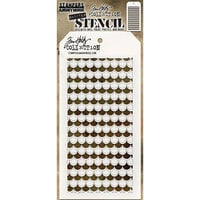 Stampers Anonymous - Tim Holtz - Layering Stencil - Shifter Scallop