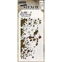 Stampers Anonymous - Tim Holtz - Layering Stencil - Grime