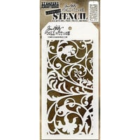 Stampers Anonymous - Tim Holtz - Layering Stencil - Ironwork
