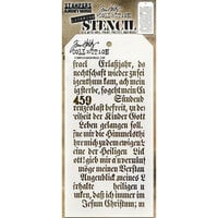 Stampers Anonymous - Tim Holtz - Layering Stencil - Script