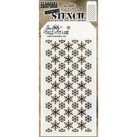 Stampers Anonymous - Tim Holtz - Layering Stencil - Christmas - Flurries