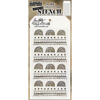 Stampers Anonymous - Tim Holtz - Layering Stencil - Nature