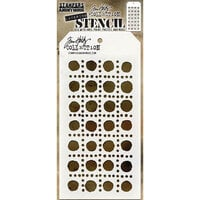 Stampers Anonymous - Tim Holtz - Layering Stencil - Dotted Line
