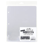 Stampers Anonymous - Tim Holtz - Storage Sheets - Clear