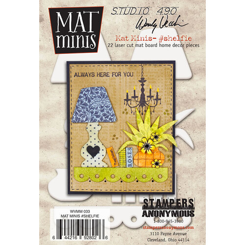 Stampers Anonymous - Wendy Vecchi - Mat Minis - Shelfie