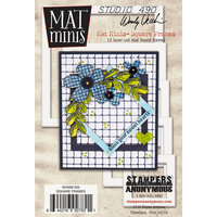 Stampers Anonymous - Wendy Vecchi - Mat Minis - Square Frames