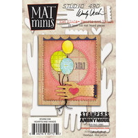 Stampers Anonymous - Wendy Vecchi - Mat Minis - Hearts and Hands