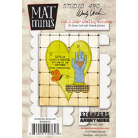 Stampers Anonymous - Wendy Vecchi - Mat Minis - Scallop Borders