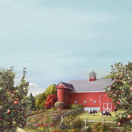 SugarTree - 12 x 12 Paper - Orchard Farm