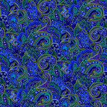 SugarTree - 12 x 12 Paper - Blue Paisley