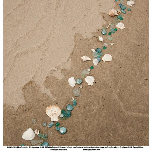 SugarTree - 12 x 12 Paper - Beach Glass