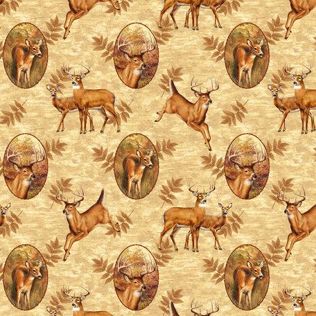 SugarTree - 12 x 12 Paper - Running Deer