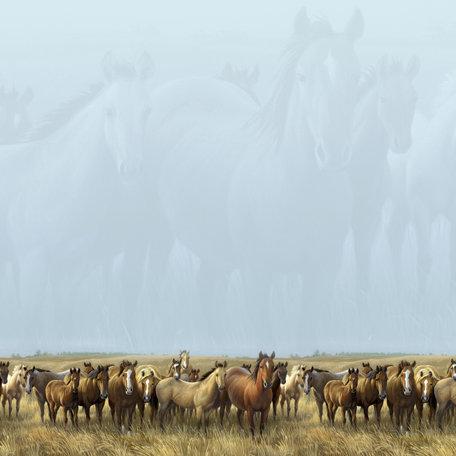 SugarTree - 12 x 12 Paper - Shadow Horses