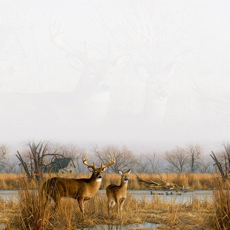 SugarTree - 12 x 12 Paper - River Deer