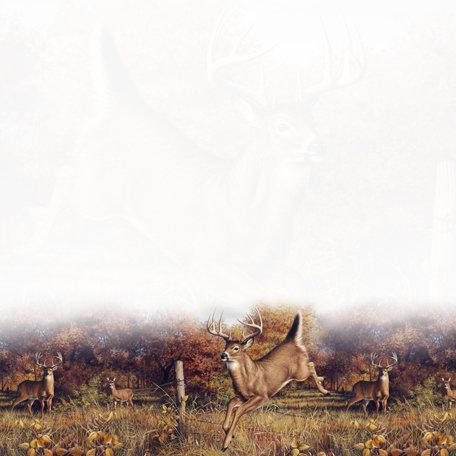 SugarTree - 12 x 12 Paper - Deer Fence Jump