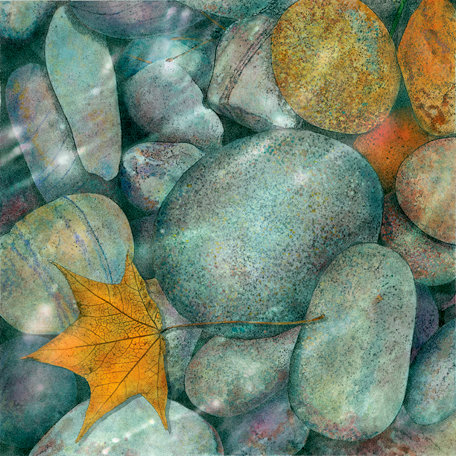 SugarTree - 12 x 12 Paper - Rocks Clear Water
