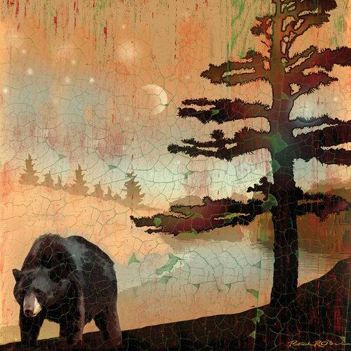 SugarTree - 12 x 12 Paper - Black Bear