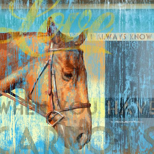 SugarTree - 12 x 12 Paper - Horse Head