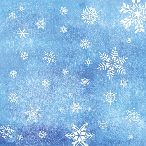 SugarTree - 12 x 12 Paper - Snowflakes
