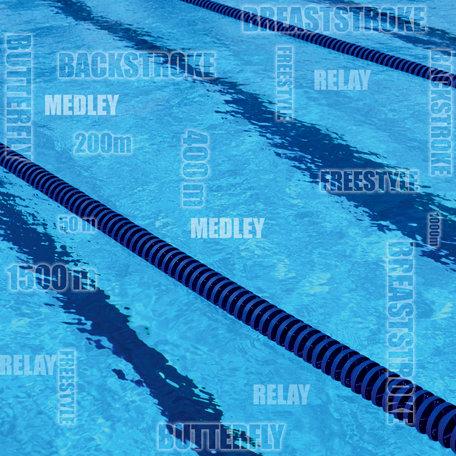 SugarTree - 12 x 12 Paper - Swimming