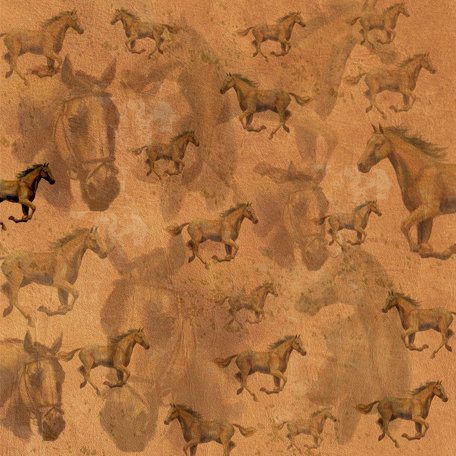 SugarTree - 12 x 12 Paper - Horses
