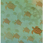 SugarTree - 12 x 12 Paper - Sea Turtles